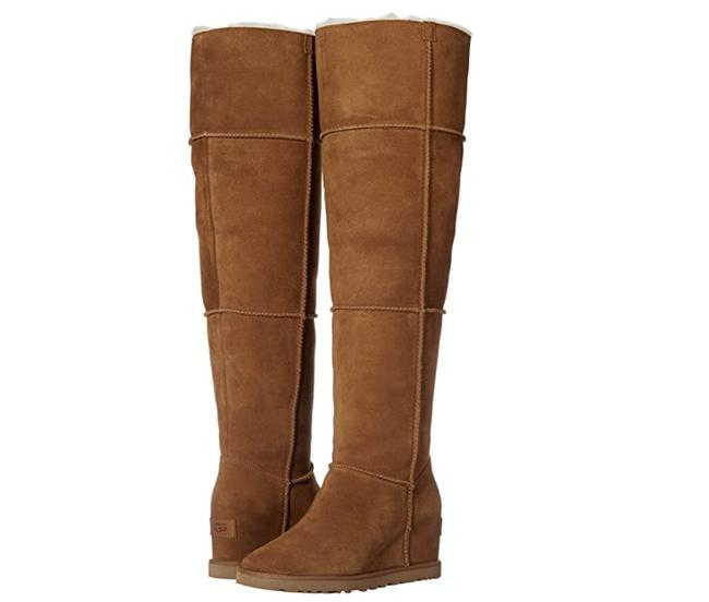 Item - Chestnut W Classic Femme Over The Knee Bag Boots/Booties Size US 8 Regular (M, B)