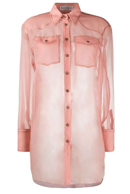 Item - Blossom Pink Color Blouse Size 4 (S)