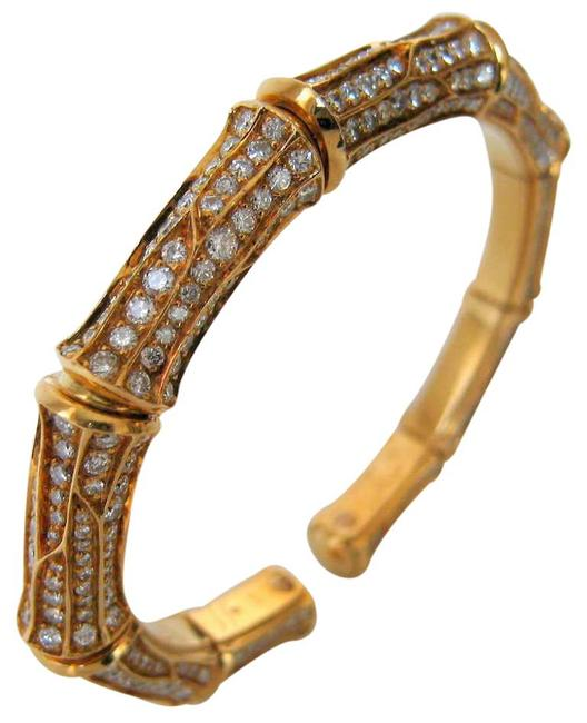 Item - Yellow Diamond Bangle From Bamboo Collection Bracelet