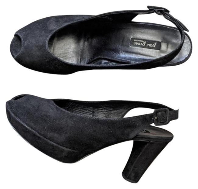 Item - Black Moriah Pumps Size US 6 Regular (M, B)