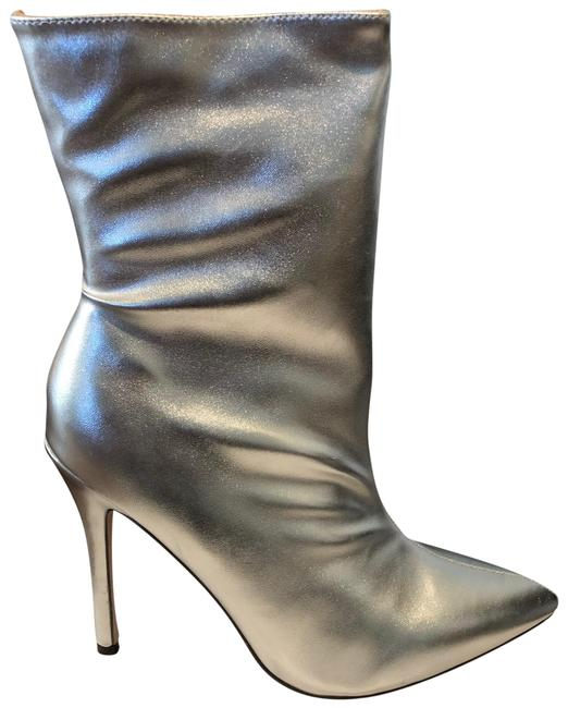 Item - Silver New Boots/Booties Size US 9 Regular (M, B)