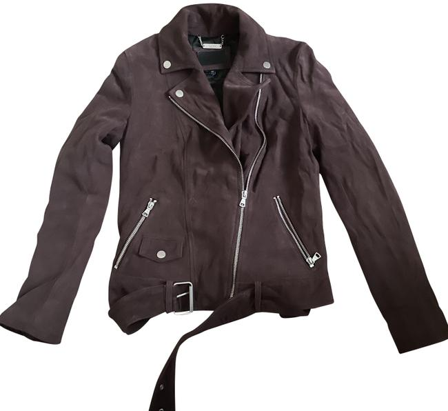 Item - Brown Stacey Suede Moto Port Lamb Suede Jacket Size 0 (XS)