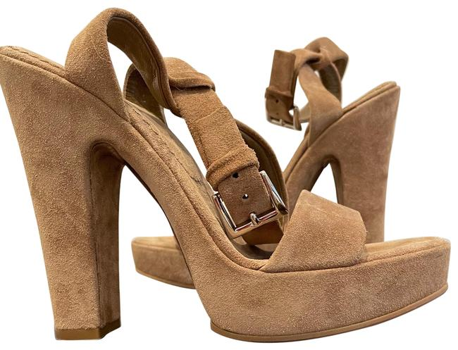 Item - Tan 1x3980 Platforms Size EU 37.5 (Approx. US 7.5) Regular (M, B)