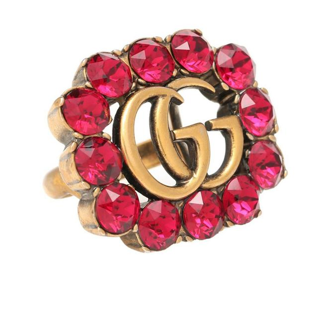 Item - Red New Gg Crystal Stones M Ring