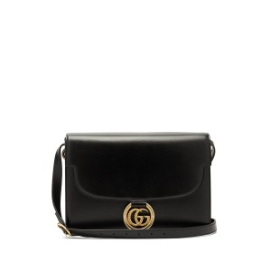 Item - Gg Ring Black Shoulder Bag