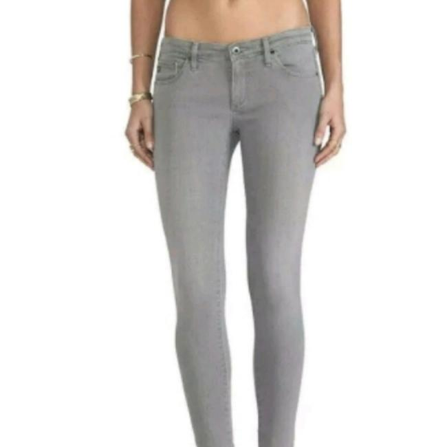 Item - Grey The Legging Ankle Super Skinny Jeans Size 26 (2, XS)