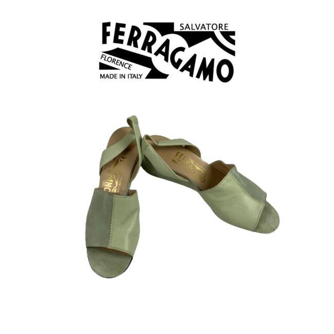 Item - Sea Foam Green Wedges Size US 6.5 Regular (M, B)