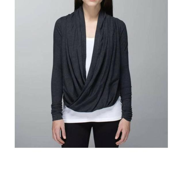 Item - Heather Iconic Wrap 8 Gray Sweater