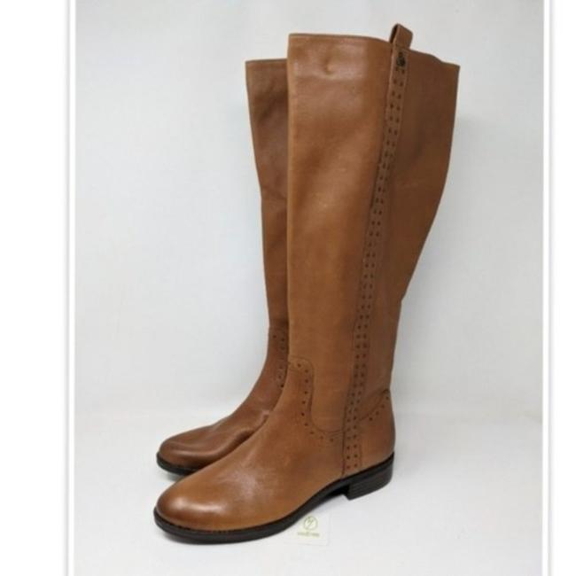 Item - Brown Prina Women's Knee High Whiskey Leather. Boots/Booties Size US 8.5 Regular (M, B)