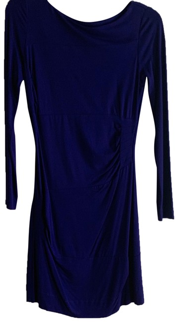 Item - Blue Fitted Short Work/Office Dress Size 2 (XS)