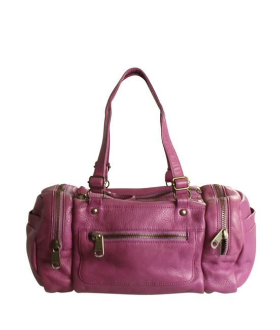 Item - (195393) Pink Leather Satchel
