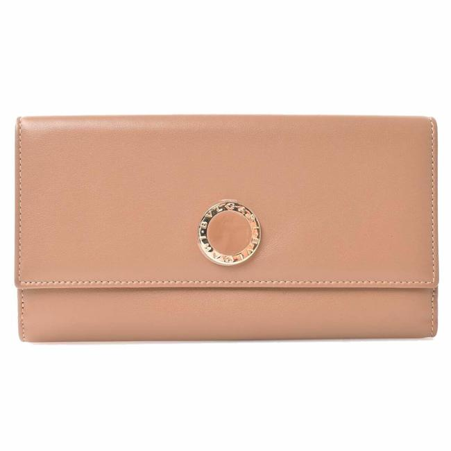 Item - Beige W Corolle Leather Hook Wallet