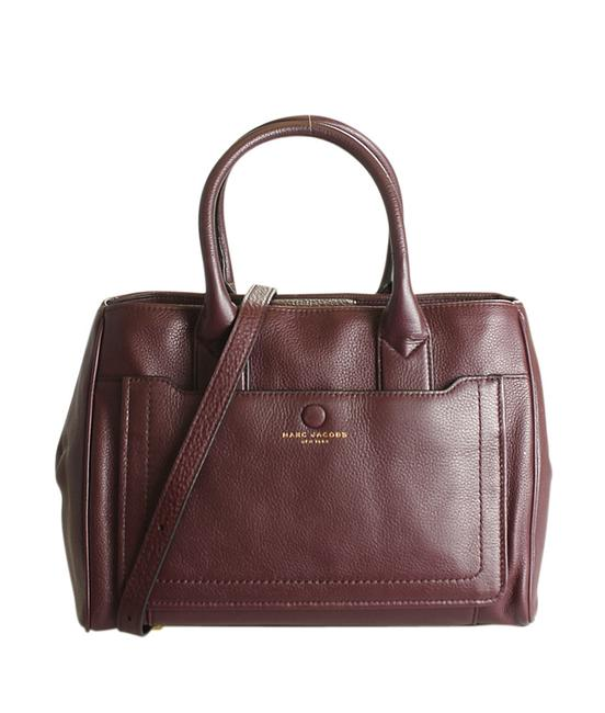 Item - Empire 2- Way (195419) Burgundy Leather Tote