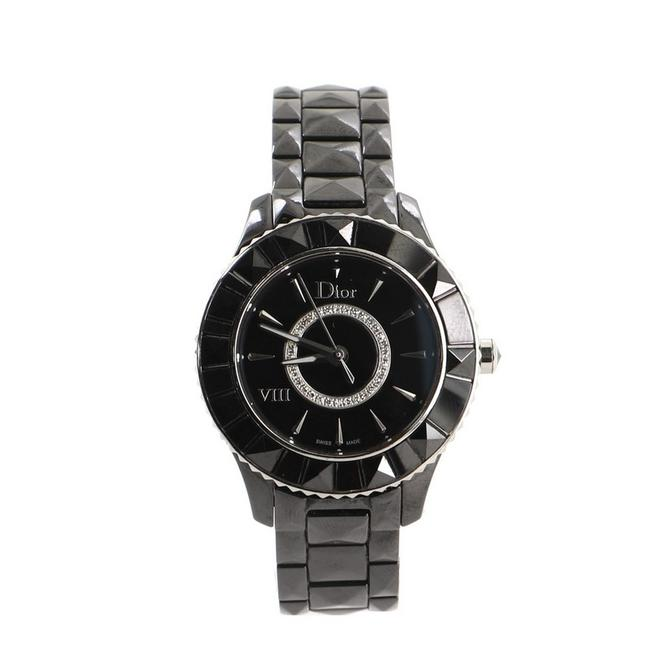 Item - Christal Viii Quartz Ceramic and Stainless Steel with Diamond Be Watch