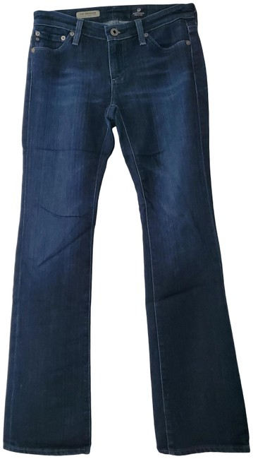 Item - Denim Dark Rinse The Angelina Petite Boot Cut Jeans Size 25 (2, XS)