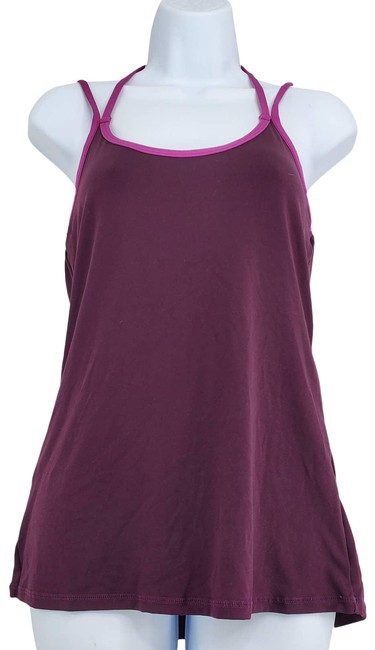 Item - Purple Strappy Activewear Top Size 4 (S)