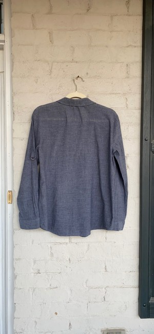 Eileen Fisher Grey Na Button-down Top Size 6 (S) Eileen Fisher Grey Na Button-down Top Size 6 (S) Image 6