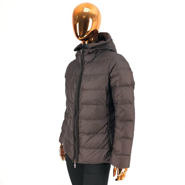 Item - Brown Womens Polyester Angers Giubbotto Puffer / Down Jacket Coat Size OS
