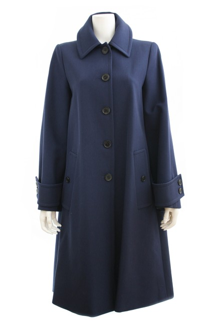 Item - Navy Oversized New Without Tags Coat Size 2 (XS)