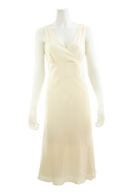 Item - Ivory White Long Formal Dress Size 14 (L)