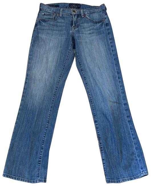 Item - Blue Easy Rider Straight Boot Cut Jeans Size 27 (4, S)