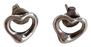 Tiffany & Co. Tiffany & Co. Elsa Peretti Open Heart Earrings in Sterling Silver