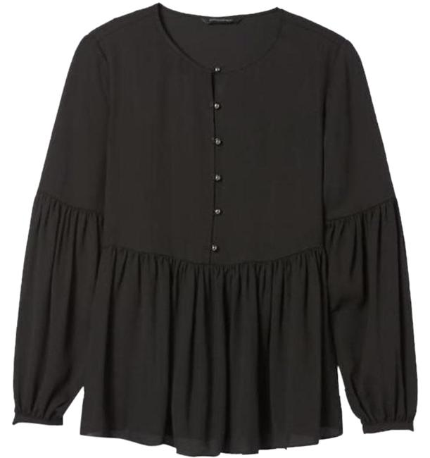 Item - Black Palermo X Olivia Womens Empire Blouse Size 4 (S)