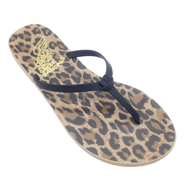 Item - Black Doro Leather Knotted Thong Sandals Size EU 35 (Approx. US 5) Regular (M, B)