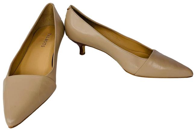 "Item - Cream Pippa Kitten Nude Beige 2"" Heel Pumps Size US 7 Regular (M, B)"