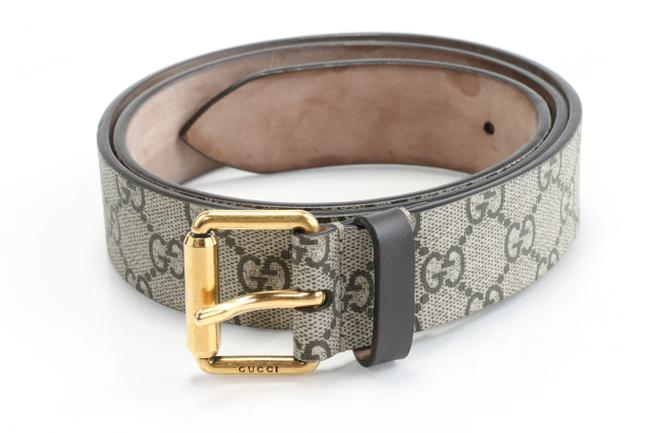 Item - Brown Gg Supreme Belt with Kingsnake Print Men's Jewelry/Accessory