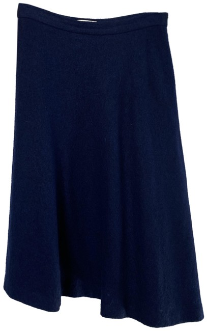 Item - Blue Wool A Line Skirt Size 4 (S, 27)