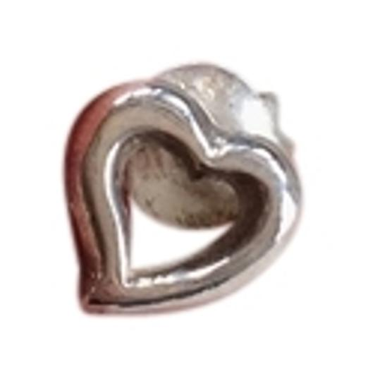 Tiffany & Co. Tiffany & Co. Elsa Peretti Open Heart Mini Single Earring in Sterling Silver
