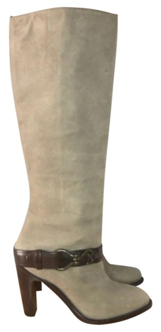 Item - Gray Brown Tantivy Nike Air Technology Knee High Tall Leather Boots/Booties Size US 7 Regular (M, B)