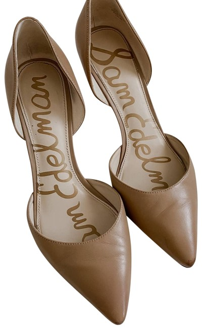 Item - Tan Jaina D'orsay Nude Leather Pumps Size US 7.5 Regular (M, B)