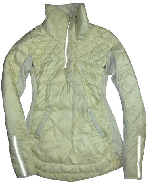 Item - Yellow What The Fluff Pullove Clarity Puffer Pullover Coat Size 4 (S)
