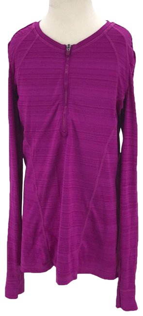 Item - Purple Pull Over Small Activewear Size 4 (S)