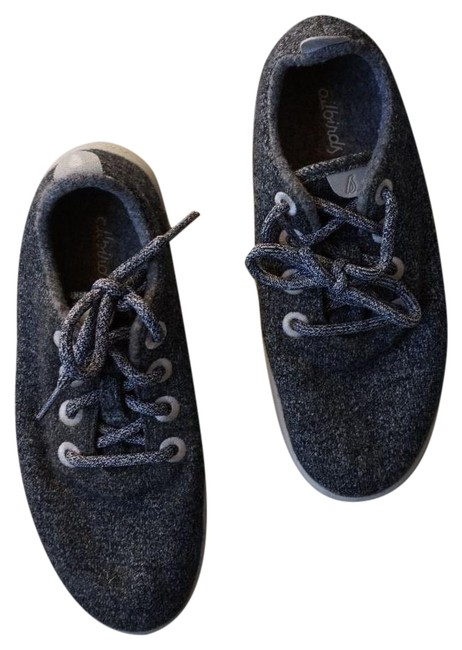 Item - Grey Wool Runners In Natural Black Sneakers Size US 7 Regular (M, B)