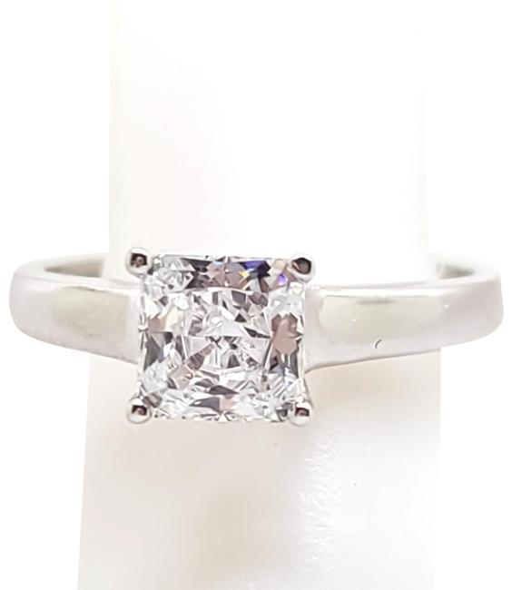 Item - White New Elegant Princess Cut 1.20ct Solitaire Simulant 9 Ring
