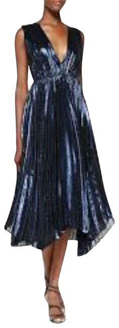 Item - Navy Mid-length Night Out Dress Size 6 (S)