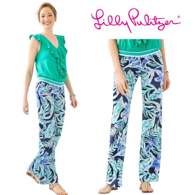 Item - Blue Georgia May Palazzo High Tide Pants Size 0 (XS, 25)