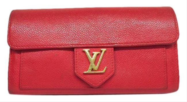 Item - Red Color / Ruby / Ruby / Ruby Long Portofeuil Rock Me M61277 Ladies Wallet