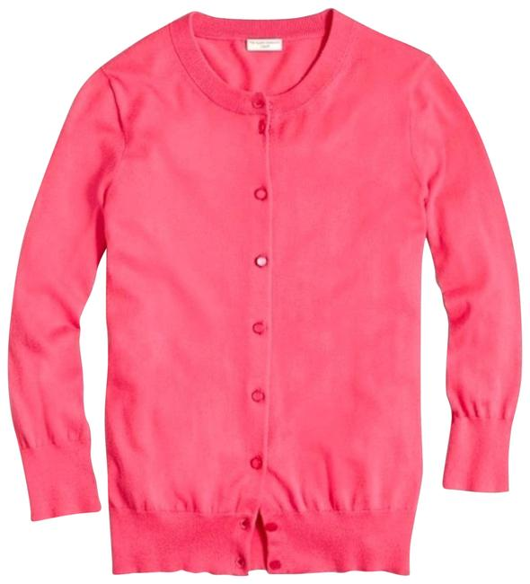 Item - Pink Button-front Clare Cardigan Size 4 (S)