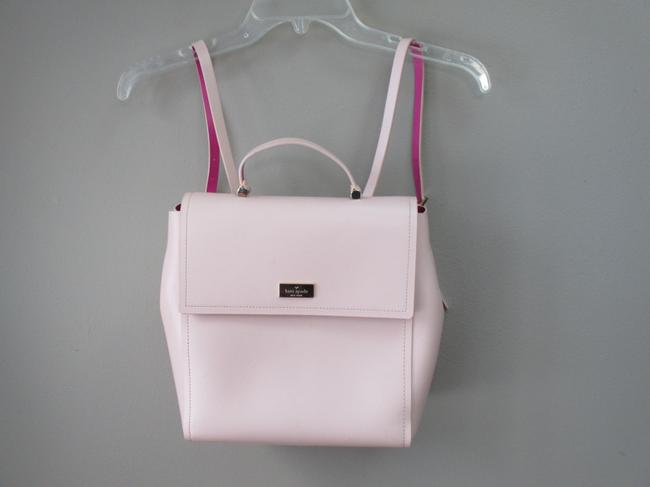 Item - Purse Pink Leather Backpack