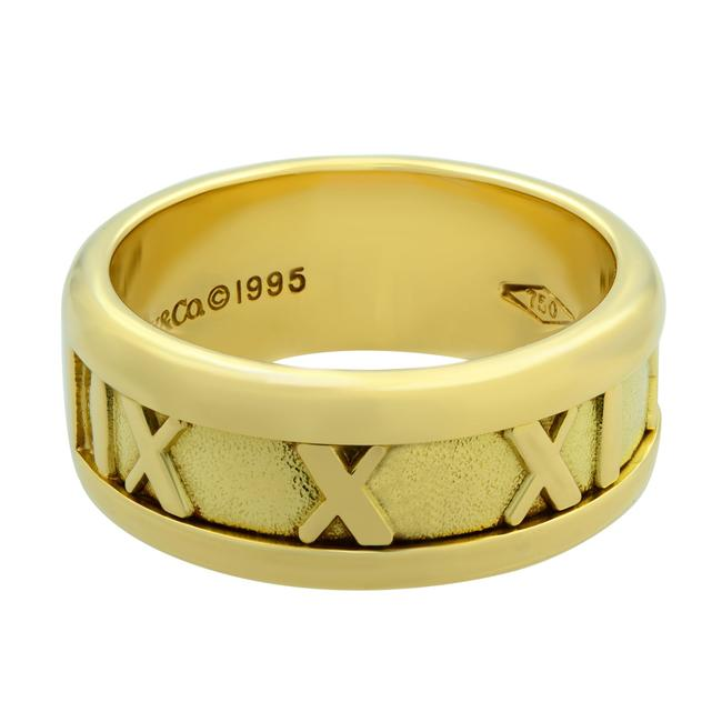 Item - 18k Yellow Gold 1995 Atlas Collection Size 4.5 Ring