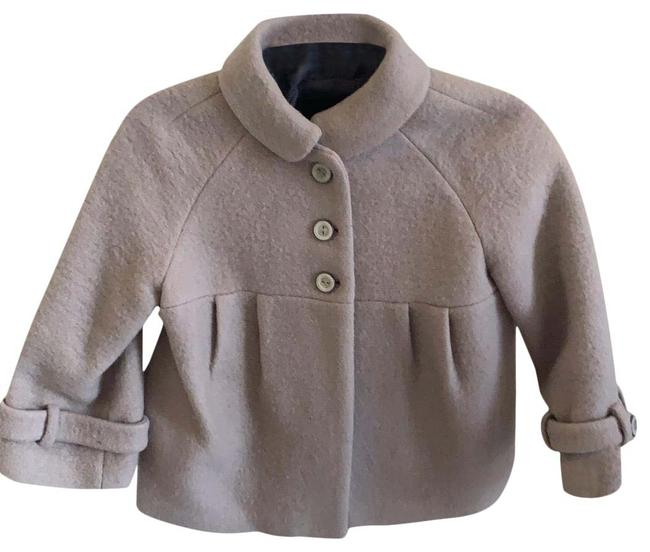 Item - Nude Wool with Collar Coat Size 8 (M)