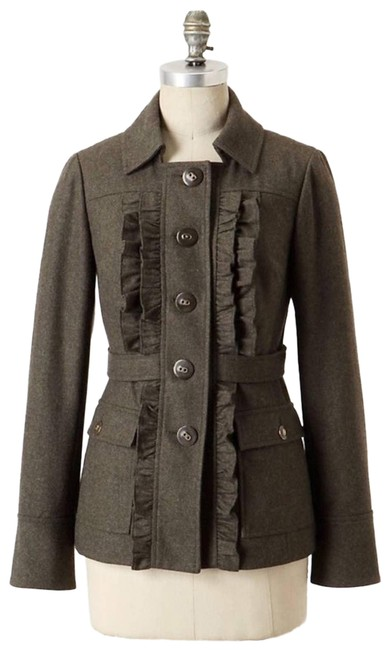 Item - Green Tabitha Oxer Wool Jacket Size 4 (S)