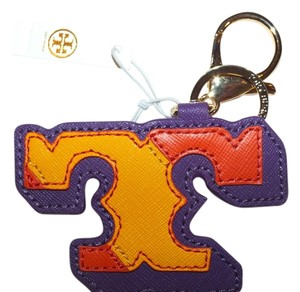 Tory Burch Tory Burch Kerrington Applique Tory T Key Fob Style#41149402