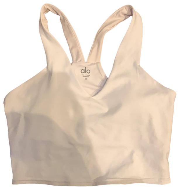 Item - White Real Bra Activewear Top Size 8 (M)
