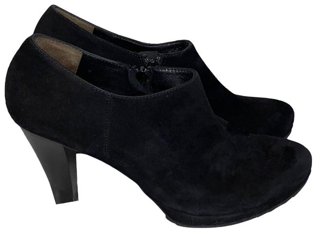 Item - Black Women's Suede Heel Boots/Booties Size US 9.5 Regular (M, B)