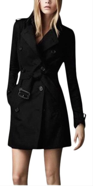 Item - Black Women's Light Gabardine Jacket Size 2 (XS)